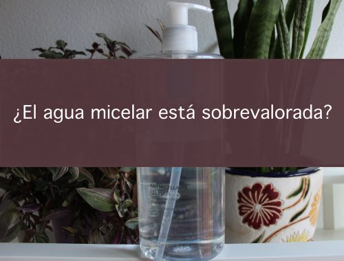 agua micelar